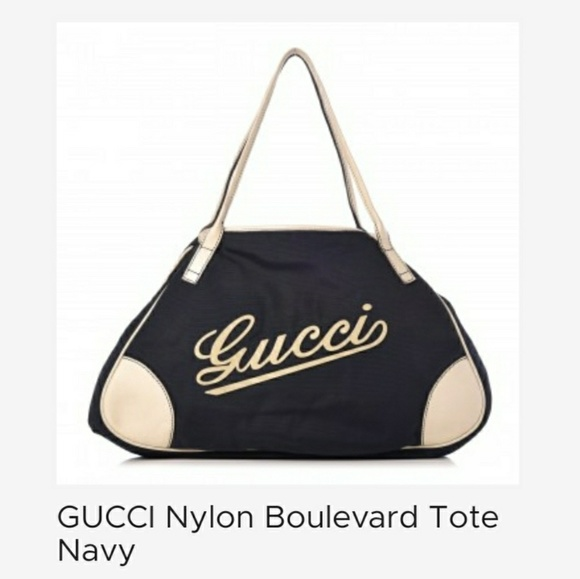 e79cd69e9597d2 Gucci Bags | Nylon Boulevard Tote | Poshmark